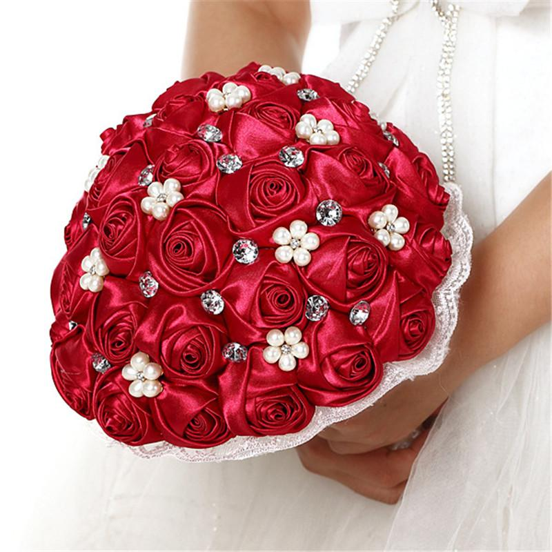 New Bridal Bouquets Artificial Flowers Wedding Flower Bride