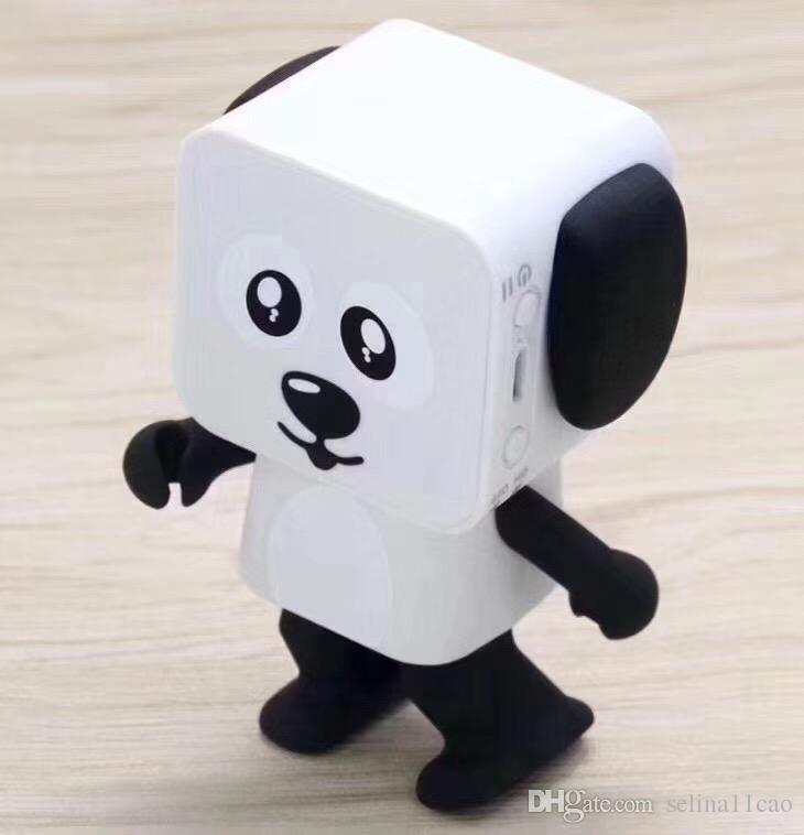 Newest Intelligent mini music Dance Robert smart remote control electronic walking Dog toys mini wireless bluetooth Speaker for child