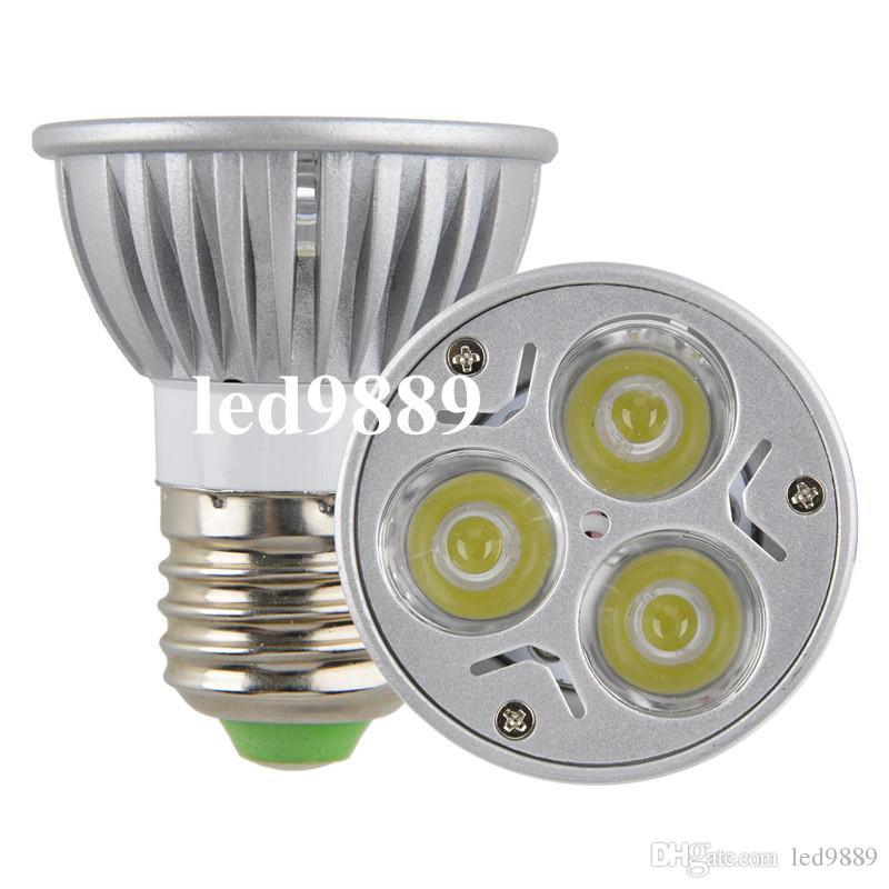 CREE GU10 de alta potencia E27 / E14 / MR16 / GU5.3 Lámpara LED 9WLight Bombilla LED Downlight Cálido / Frío Blanco, Envío gratis