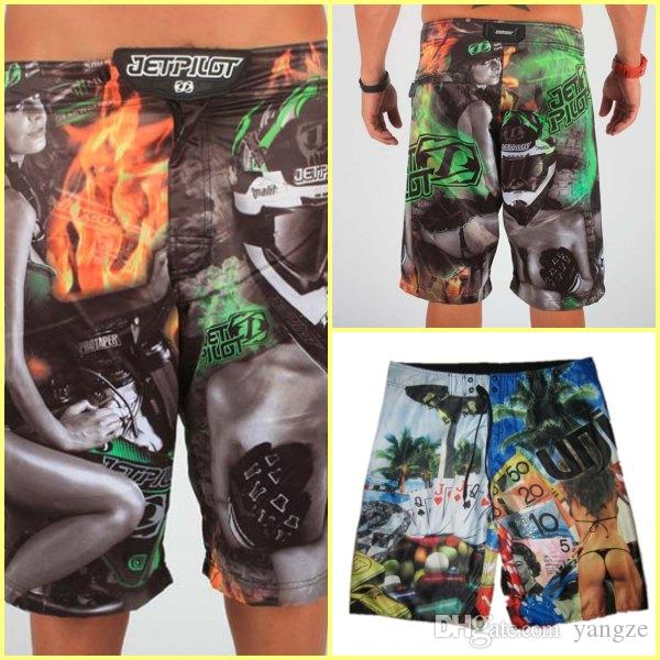 f89f87ded591 2019 2017 Hot Men S Board Shorts Surf Trunks Swimwear With Wax Comb Twin  Micro Fiber Boardshorts Beach Short 30 32 34 36 High Quality Jet Unit From  Yangze