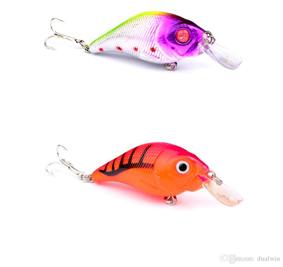 Hot Crank Lures selling fishing lure 7.5cm/10.2g top water magician fishing tackle DW1221