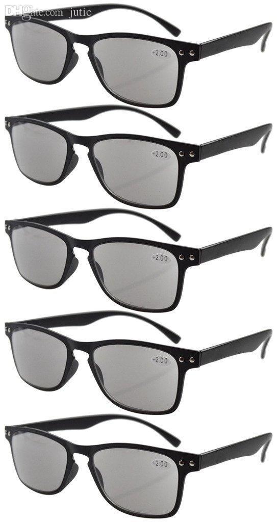 4546300c40b Wholesale-Ultrathin Flex Frame 80 s Reading Glasses Sun Readers R046 ...