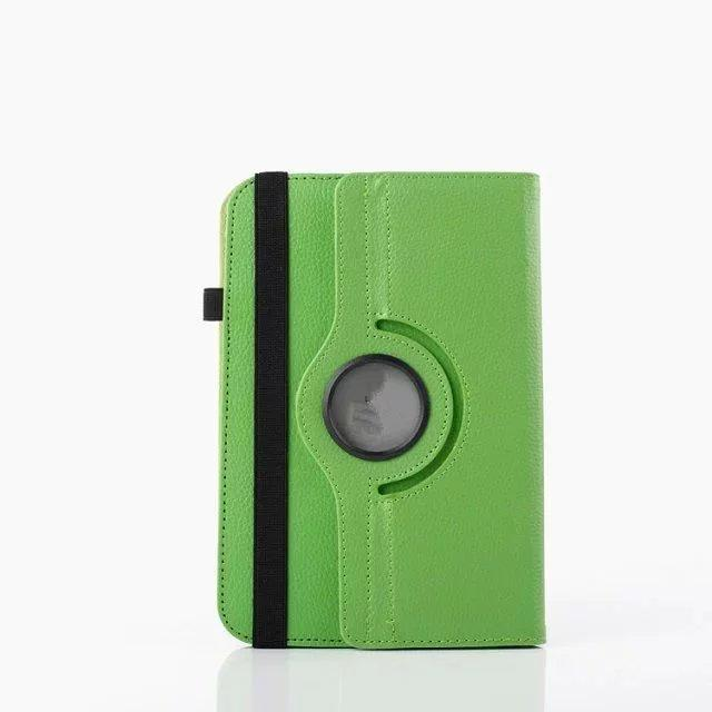 Universal For 7.0 8.0 9.0 10.0 inch PC tablet Litchi 360 Rotating Leather Wallet Case Pouch Bag Colorful Rotary Stand Skin Cover