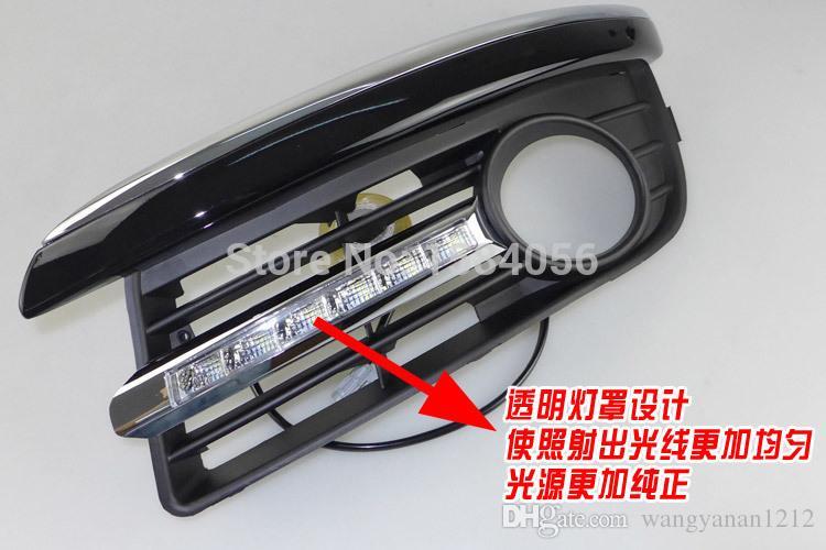 NOUVEAU!!! VW Jetta Sagitar golf 5 variante 2006-2010 LED diurne feux Osram puces gradateur fonction de qualité supérieure
