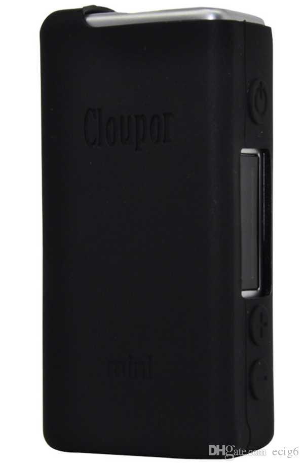 Cloupor mini MOD E cig Cigarro Eletrônico Silicone Case Capa Da Pele Bolsa de Bolso Bolsa de Acessórios Caixa