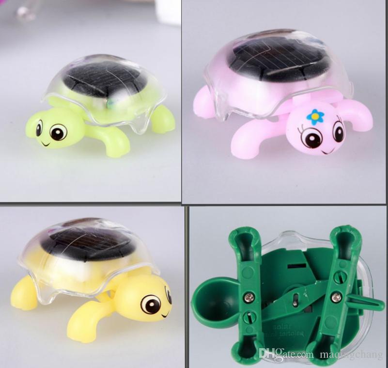 Фабрика hotsale солнечная игрушка черепаха насекомых идеальный образовательные / интеллектуальные игрушки дети подарок на день рождения продвижение 200 шт. / Лот пункт 044