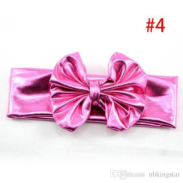 Bebek Bantlar Kızlar Kafa sarar Dağınık Yay Bebek Baş sarar Headwraps Büyük Yay Bebek Knott Bantlar 10 adet / grup ücretsiz kargo