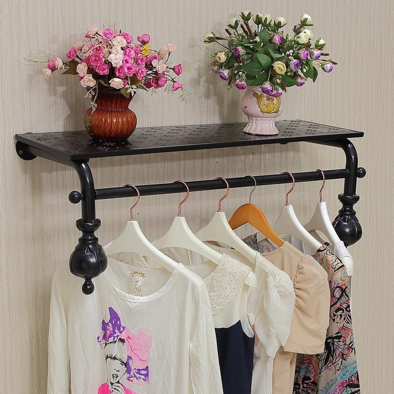 f8f5851571ca9 Satın Al Duvar Vitrin Giyim Mağazası Raf Zemin Duvar Raf Kostümleri Demir  Giyim Raf, $555.96 | DHgate.Com'da