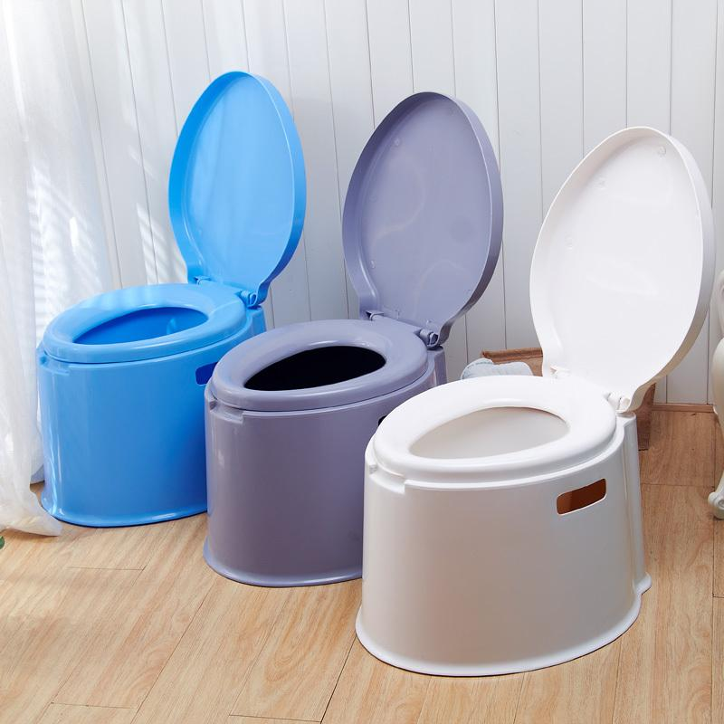 Portable Mobile Toilet Seat Toilet Pregnant Adult Thicker Plastic ...