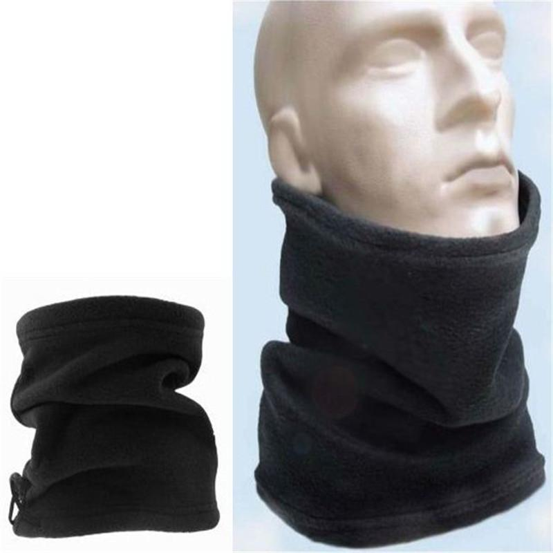 Factory price Multifunctional Scarf Unisex Men Women Thermal Warm Fleece Snood Scarf Neck Warmer Beanie Ski Balaclava Hat ouc2128