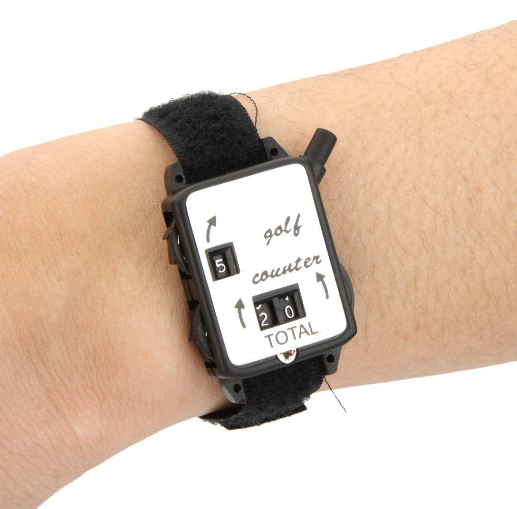 2019 Automatic Golf Stroke Counter With Wristband Band