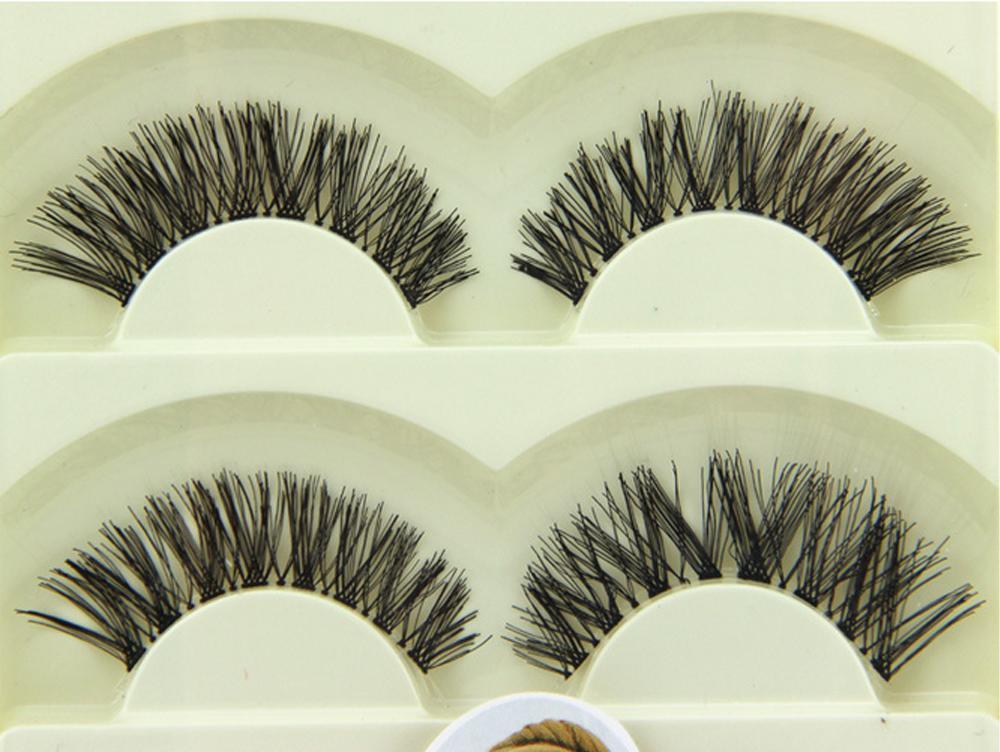 Faux hair eyelashes, Korea pbt fiber eyelashes protein human hair eyelashes  5-03
