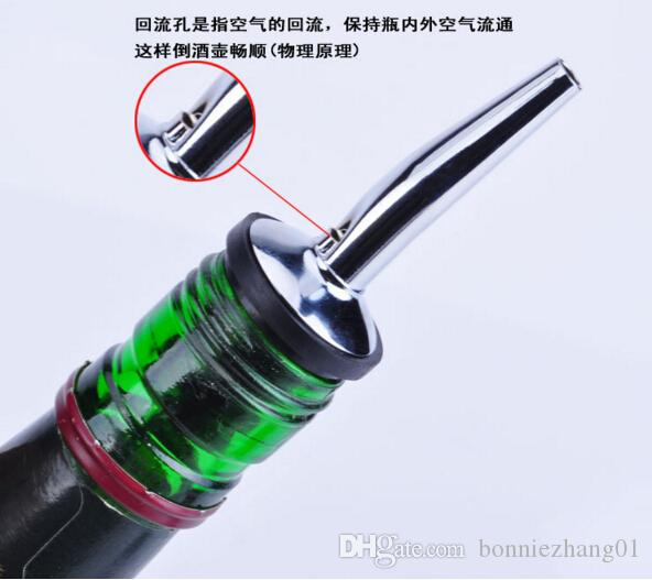 Wine Pourers Funnel Bottle Dumping Wine Stoppers Plug Bar Tools Rolhas dos vinhos cafe KTV bar bartender kitchen home