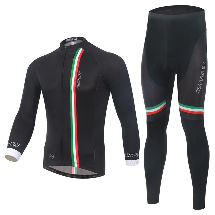 865c827c8 XINTOW Itality Style Cycling Jersey Sets Long Sleeves Cycling ...