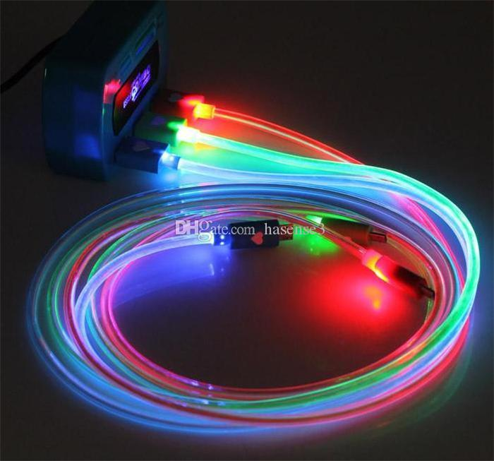See larger image & Best Smart Charger Cables Flashing Led Light Micro Usb Date Cable ... azcodes.com