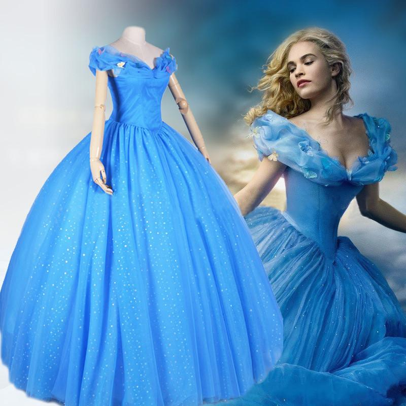 Light Blue Princess Dress