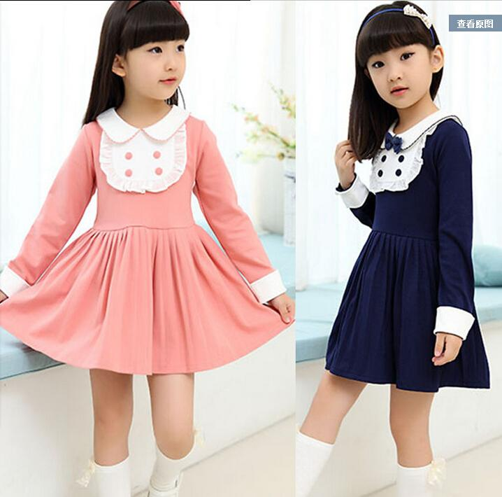 8cb209c7d 6-7-8-9-10-11-12 Year-old Girl Long-sleeved Dress 2013 New Girls ...