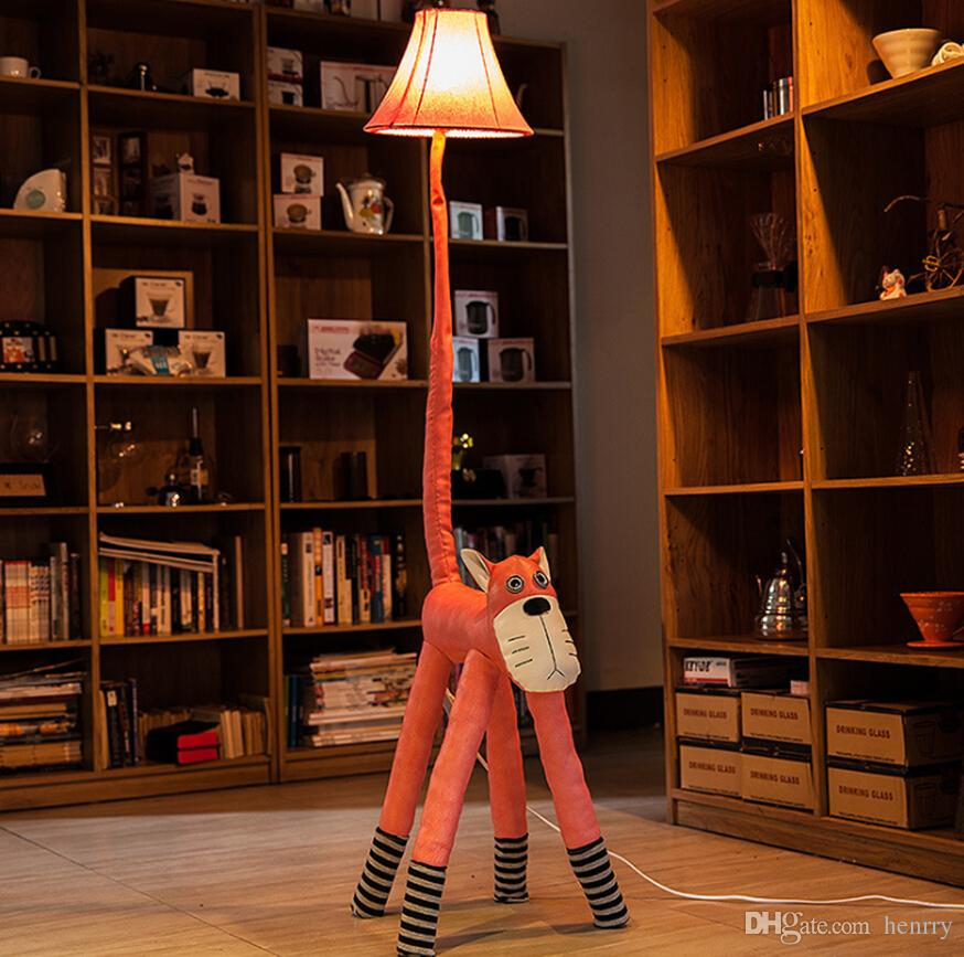 2017 Creative Cortex Cartoon Floor Lamps A Bag , Bedside Lamp Bedroom,  Rustic Living Room Lamps, Reading Lamps Childrenu0027S Room Animals From  Henrry, ... Part 90