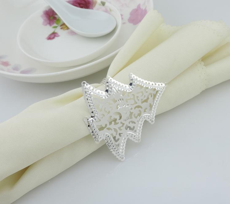 silver christmas trees napkin rings wedding accessories wholesale hotel table decorations accessories 2015 new arrival wicker napkin rings wire napkin rings - Silver Hotel 2015