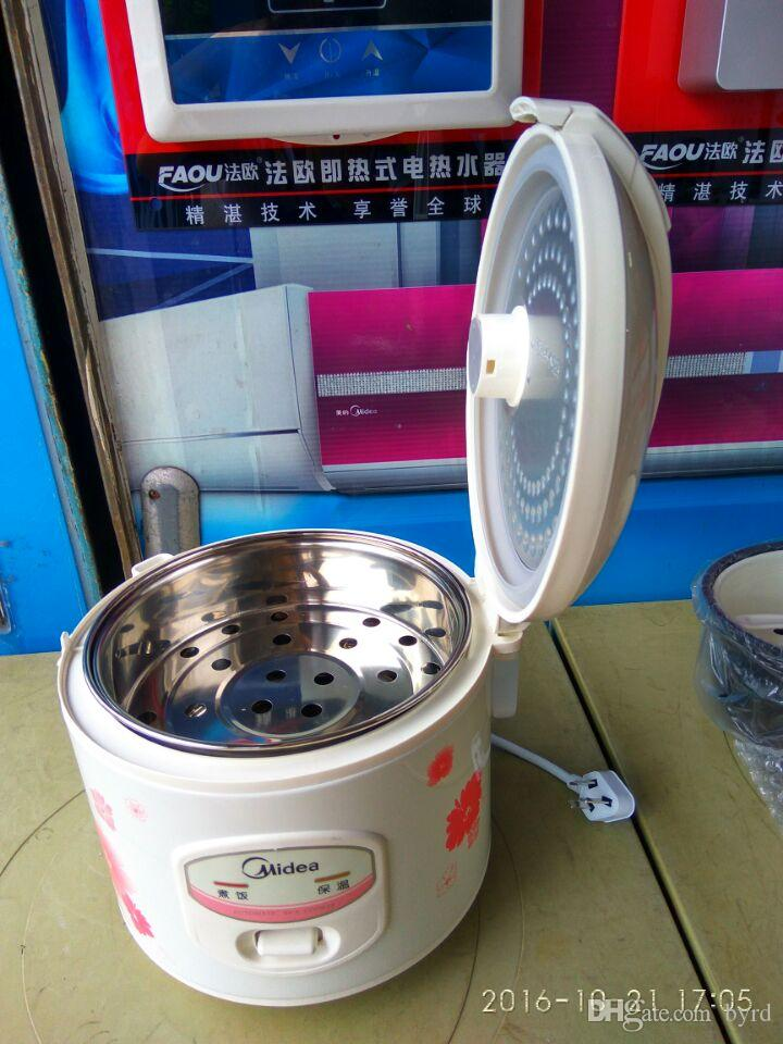 4L tragbare midea elektrischer Reiskocher China YJ408J Antihaft- Edelstahl Innentopf Mini-Elektroherd 4L