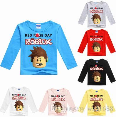 2019 3 Tops Conan 10year Roblox T Shirt Top Cartoon Kids nwN0m8Ov