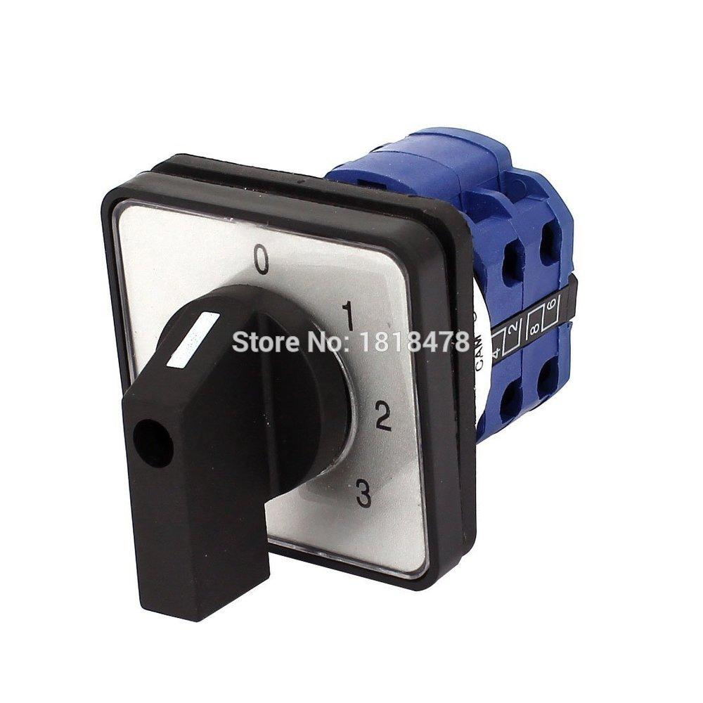 2017 szw26 20 0 3 2 ac 660v 20a 4 position mounting rotary select cam changeover switch from. Black Bedroom Furniture Sets. Home Design Ideas
