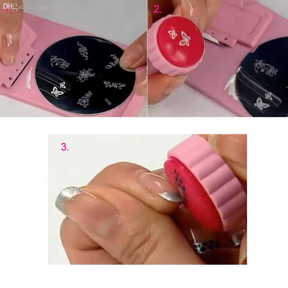Wholesale 2 East Nail Art Accessories Stamper Scraper Stamping Plate
