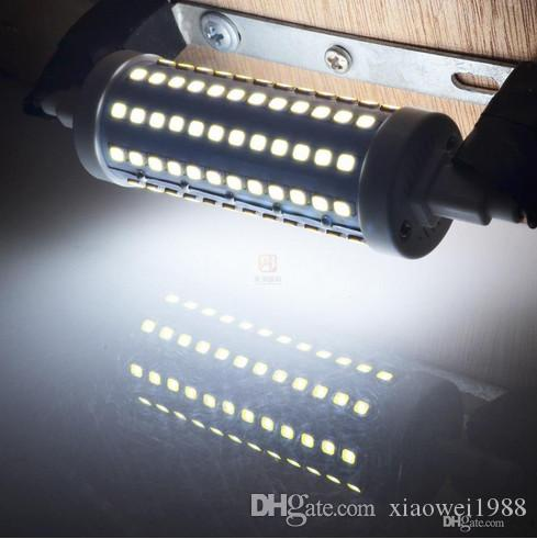 Dimmable DHL SHIP R7S LED éclairage 7W 14W 20W 25W 85-265V 78mm 118mm 135mm 189mm LED R7S Ampoules SMD2835 Remplacer les lampes halogènes