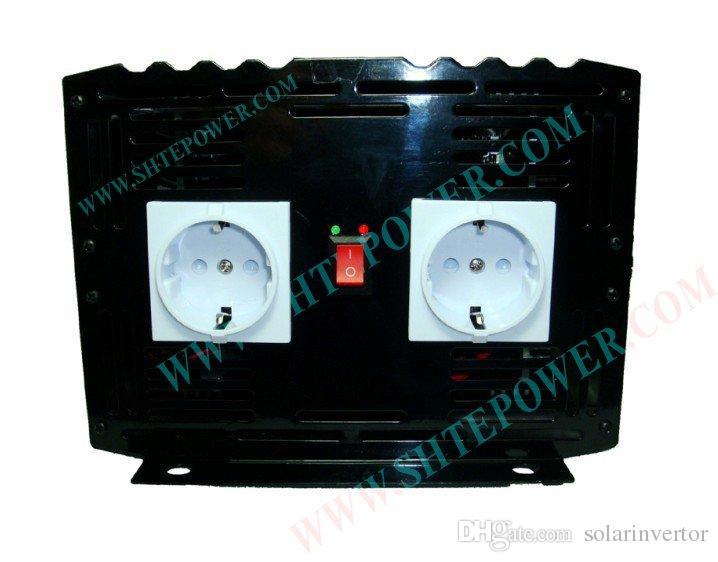 Venta al por mayor DC 12V a AC 240V Power Inverter, 3000w de onda sinusoidal pura Power Invertor, envío gratis
