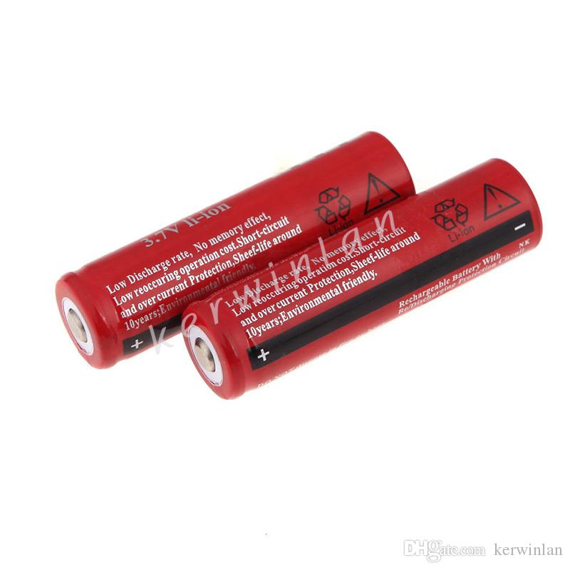 18650 3.7V 4200mAh UltraFire ليثيوم قابلة للشحن بطارية ليثيوم أيون لالسجائر الالكترونية الصمام دراجة ضوء مصباح يدوي Heanlamp