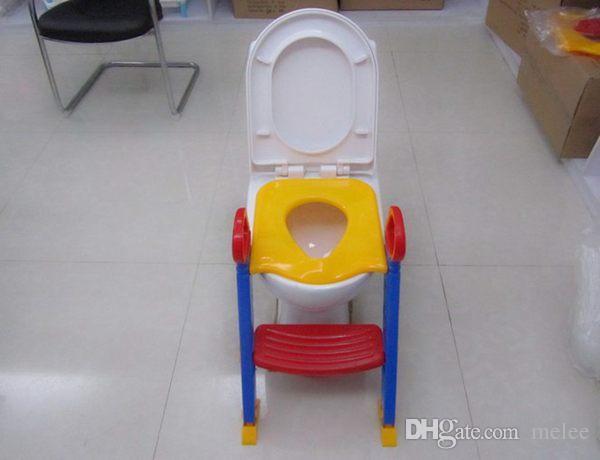 아기 유아 변기 훈련 화장실 사다리 좌석 단계 안전 자식 화장실 의자 / 어린이 화장실 사다리 의자