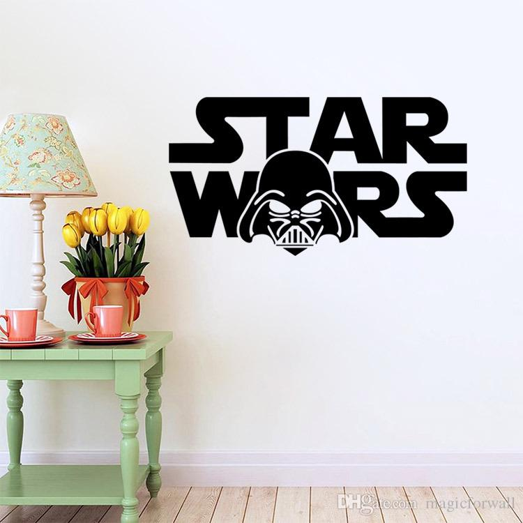 Star Wars Wall Decal Decor With Darth Vader Removable Wallpaper - Locations where sell wall decals