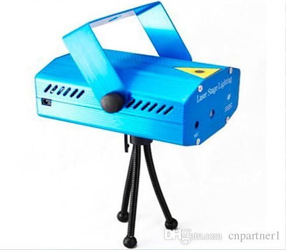 Tome o preço de custo da amostra 150mW GreenRed Laser Azul / Preto Mini Iluminação de Palco de DJ Partido DJ Luz de Palco Luzes de Discoteca Dance Floor