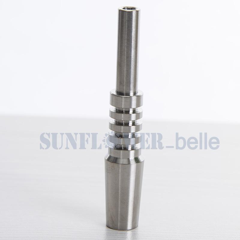 Tubos de Silicone de 14mm Silicone Palha De Mel dab palha coletor de nectar de silicone de design simples com ponta de titânio - SRRS442-T