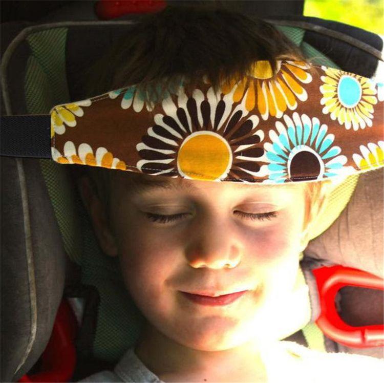 Asiento del coche de bebé de la moda del sueño del cinturón ajustable de la siesta de la ayuda Soporte para la banda de soporte para la cabeza de seguridad para viaje Protector para niños IC888