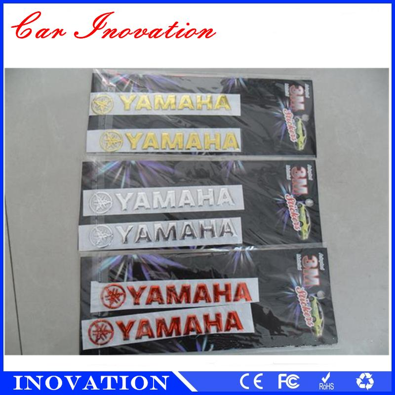 Soft ABS Honda YAMAHA SUZUKI Chrome Finish Soft Automobile And Car - Suzuki motorcycles stickers