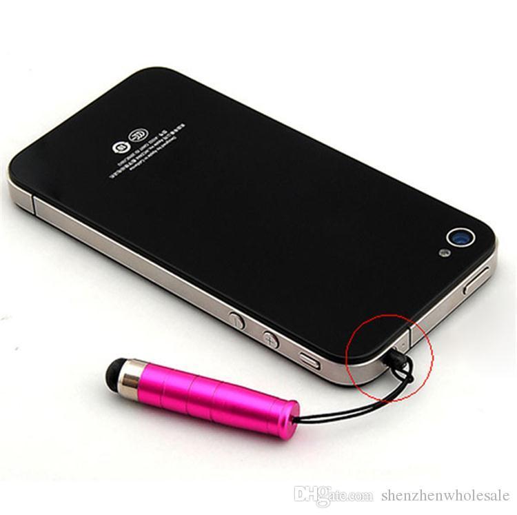 Długopis dotykowy Mini Stylus z wtyczką antypustową dla inteligentnego telefonu komórkowego do telefonu komórkowego na pojemnościowy telefon i tablet PC