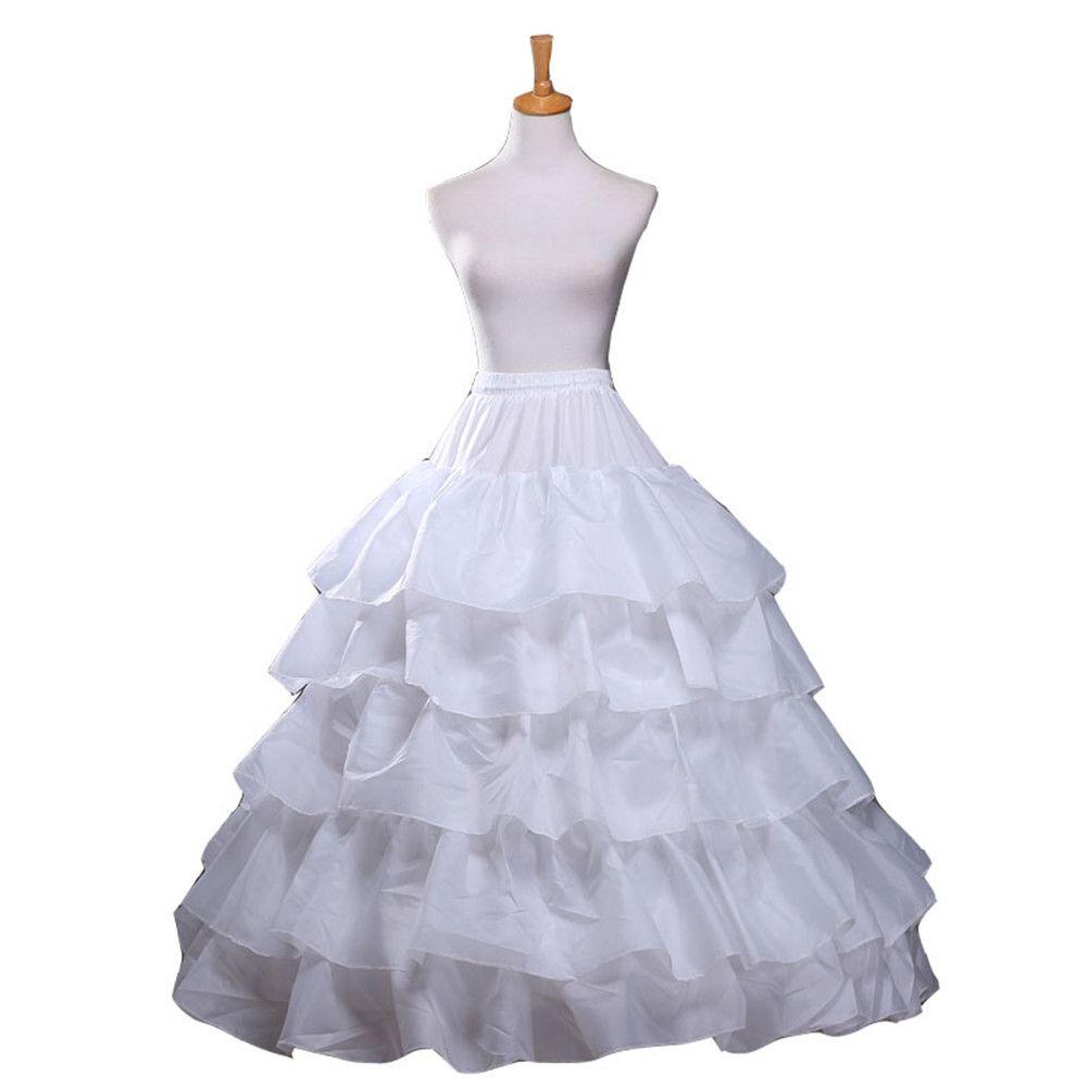 Großhandel 2015 Aimani Ballkleid Petticoat Legt Weiße Krinoline ...