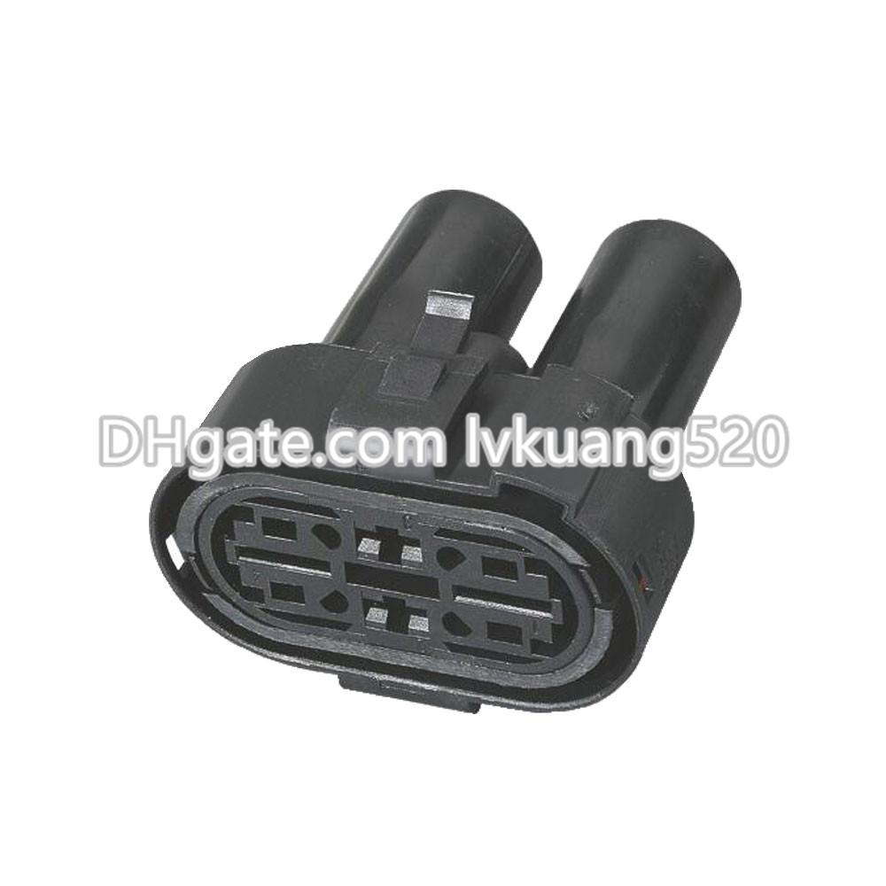 4 Pin Waterproof vehicle connector Car Connector Oxygen sensor plug connector with terminal DJ7041-6.3- 9.5-21