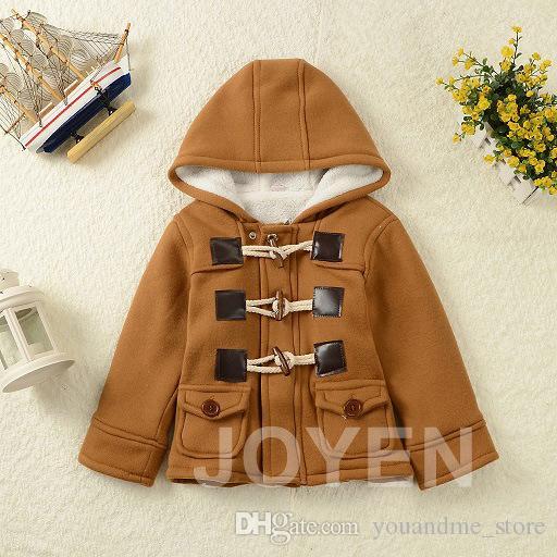 Detaliczna Moda Bluzy Coat Children Płaszcz Parki Zimowe Ciepłe Chłopcy Płaszcze Z Długim Rękawem Kurtka Boże Narodzenie Outwear Baby Kids Coat Odzież F11