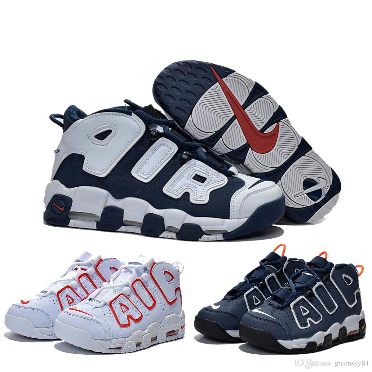size 40 ed8df 923c5 Nike Air More Uptempo Olympic Pippen Retro Women S Basketball Shoes,Original  Cheap Air Max Olympic Basketball Shoes For Male New Arrivals Shoes Men  Tennis ...