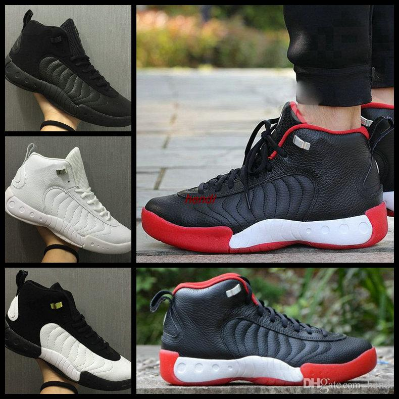 0fdb9046712f JUMPMAN Pro OG Taxi Bred Men S Basketball Shoes Sneakers Top Quality  Michael Sports Team Jumpman Pro 2018 Quick Sprot Sneaker US 7 13 4e  Basketball Shoes ...