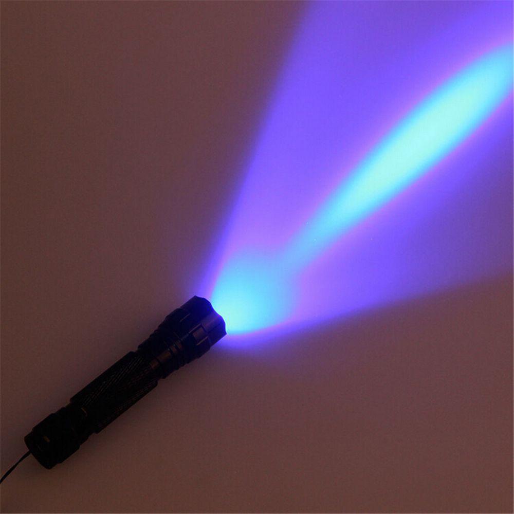 3W WF-501B CREE UV LED Flashlight Purple Light UV 395-410nm Ultraviolet Flash Torch Lamp Portable Lantern Linternas Money Stain Detector