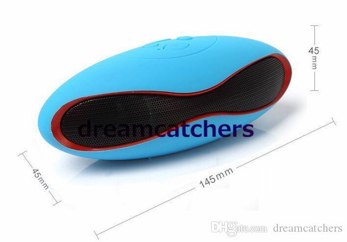 Oliven Auto Lautsprecher Portable Wireless Bluetooth Verbindung Lautsprecher Rugby Lautsprecher mit USB TF für iphone 6s Samsung S6 Tablet PC