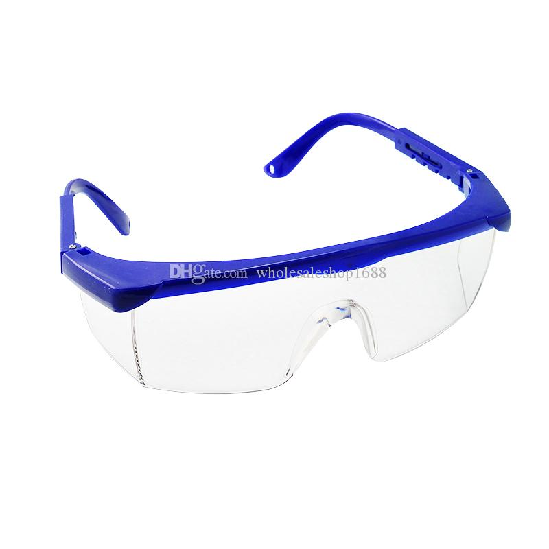 new anti fog dental protective eye goggles safety glasses blue frame polymer materials vision care opticians vision care optometry from
