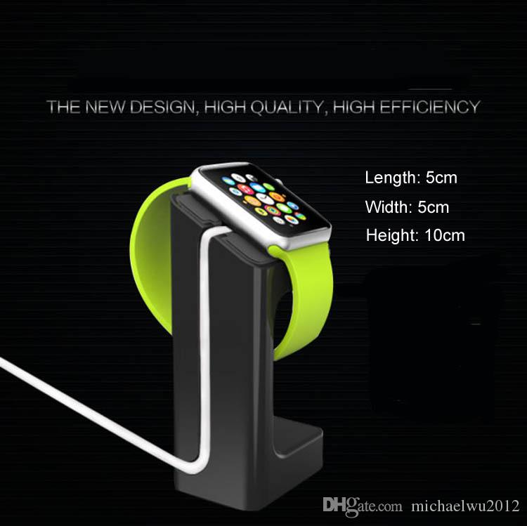 New Light Stand Holder For Apple Watch Magnetic Charging Cable For Apple iwatch Wireless Charging Stand Dock For Smart Watch Holders