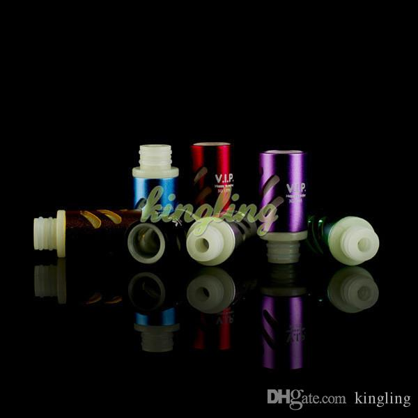 Ecigs Air Flow Noctilucent Wide Bore Drip Tips 510 Aspire Drip Tips for Vaporizer E-Cigs Atomizer Chuff Tip for Troll RDA Tanks Tips