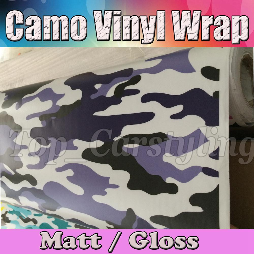 2017 Car Motorcycle Body Graffiti Blue Camo Wrap Sticker Sheet Vinyl Film With Air Release Arctic Vehicle Graphics 152x30m Roll From