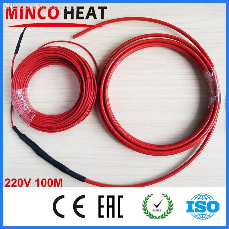 Best Wholesale 100m 220v 1200w Dual Core Teflon Underfloor Heating ...