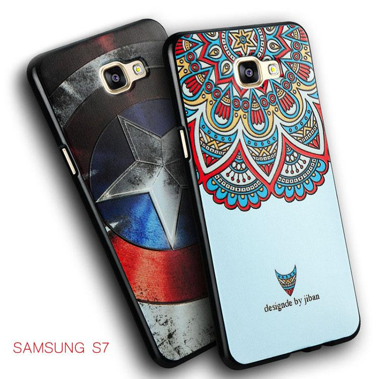 new for samsung galaxy s7 edge phone case s7 edge relief painting